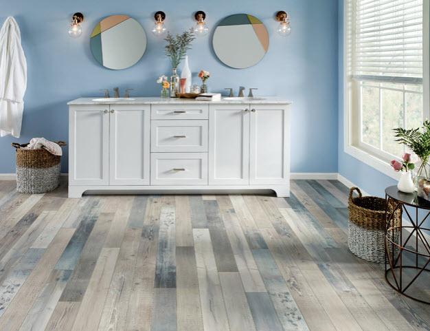 The Best Modern Bathroom Flooring, Is Vinyl Plank Flooring Good In Bathrooms